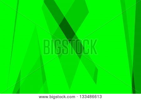 Green colors used to create abstract background