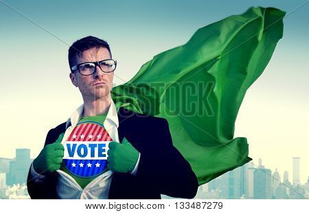 Vote Election Campaign Politics Rights Democracy Concept