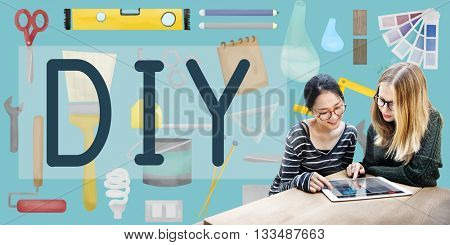 Do It Yourself Project Graphics Concept