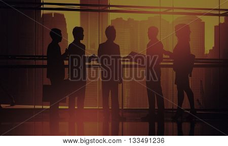 Business People Working Teamwork Concept