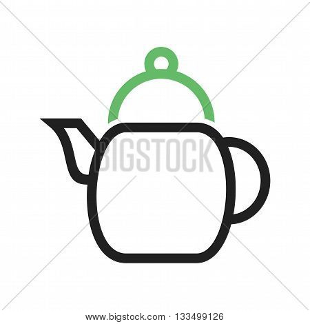 Kettle, electric, tea icon vector image. Can also be used for spa. Suitable for mobile apps, web apps and print media.