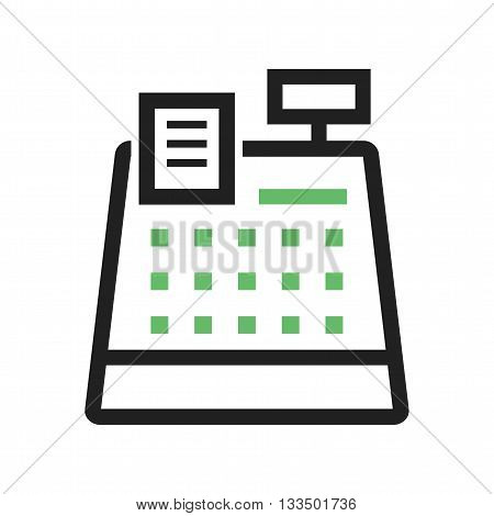 Cashier, bank, cash icon vector image. Can also be used for finances trade. Suitable for web apps, mobile apps and print media.