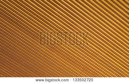 Orange polycarbonate closeup as a the background
