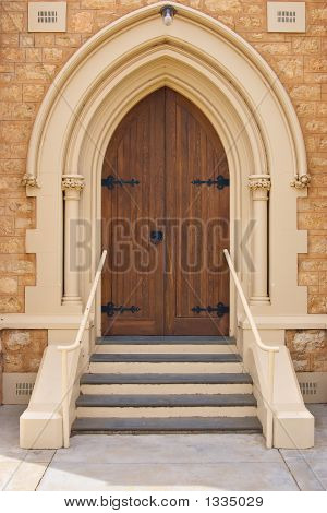 The Old Church Door