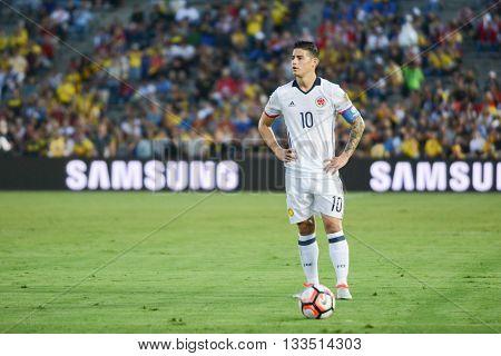 James Rodriguez During Copa America Centenario