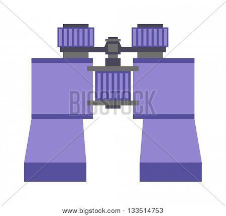 Binoculars vector illustration.