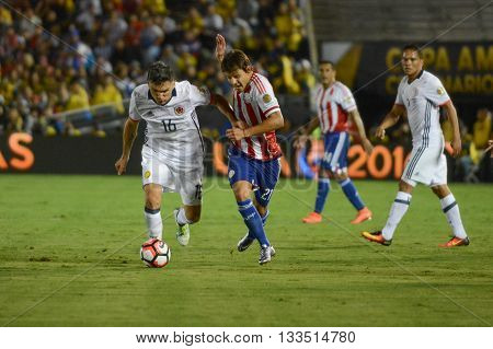 Soccer Players Fighting For The Ball