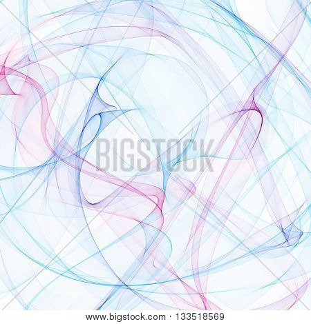 Color background smoke pink - blue. Smoke background,  smoke cloud. Smoke ribbon