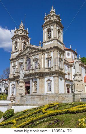 Bom Jesus Do Monte Church In Braga