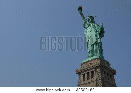 The Statue of Liberty, Liberty Island, New York City, USA