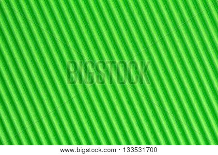 Green textured corrugate cardboard can be used as background
