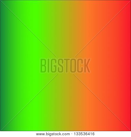 primary colors gradient from green to red