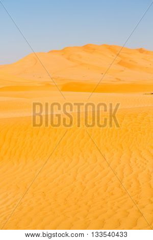 In Oman Old Desert   And Outdoor   Dune