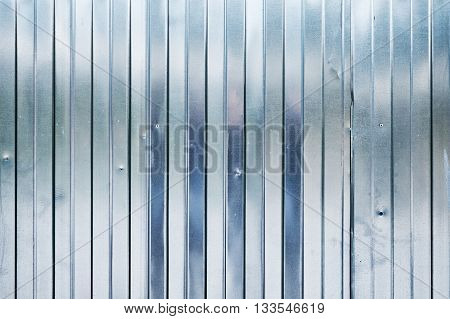 New Shining Corrugated Metal Fence, Industrial
