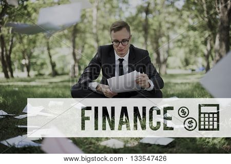 Finance Financial Economy Budget Bookkeeping Concept