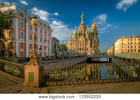 Church of the Resurrection. Savior on Spilled Blood.