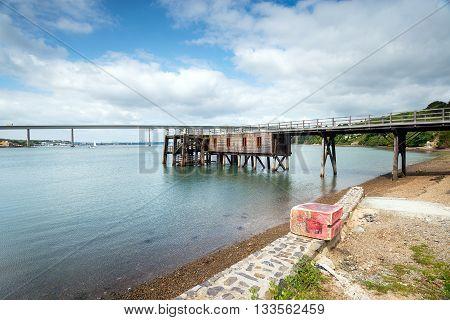 Burton Ferry In Wales