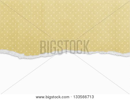 Old vintage torn paper texture background pattern