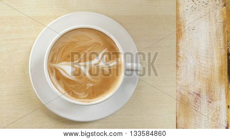Coffee in White Cup Design
