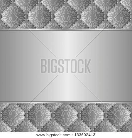 decorative background with ornaments and copy space