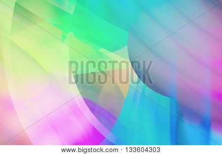 Abstract color dynamic background with lighting effect. Futuristic bright painting texture for creativity graphic design. Pattern for wallpaper, poster, cover booklet, flyer, banner. Fractal art