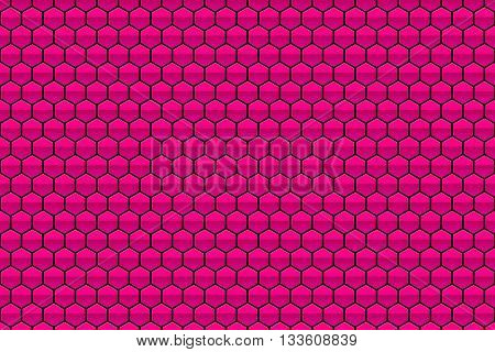 abstract hot pink honeycomb texture pattern - background