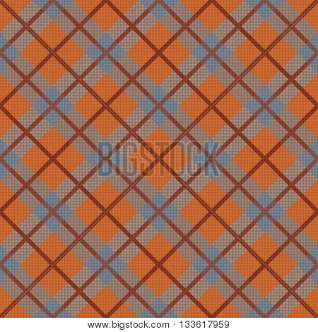Seamless Diagonal Pattern In Grey And Orange