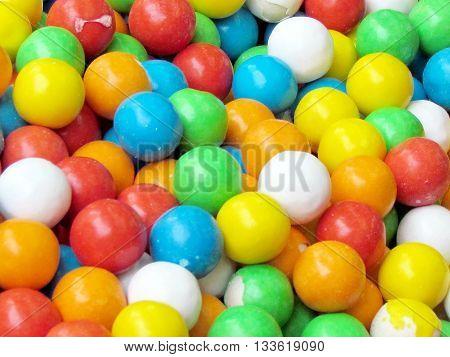 Balls Candy on bazaar in Tel Aviv Israel