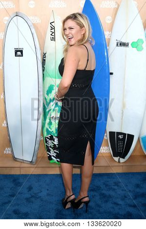 LOS ANGELES - JUN 8:  Jessica Lowe at the Animal Kingdom Premiere Screening at the The Rose Room on June 8, 2016 in Venice Beach, CA