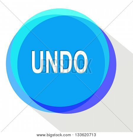undo. Internet template. Vector icon.