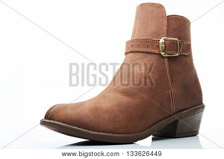 Light Brown Ankle Boot