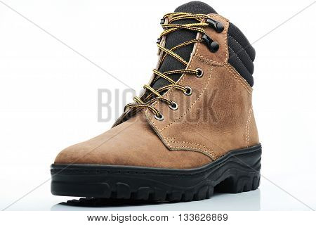 Combat Brown Boot