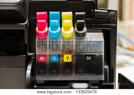 Color tank on ink jet printer .