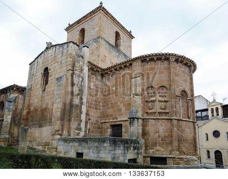 Church of San Juan de Rabanera Castilian Romanesque monument that the city of Soria Spain