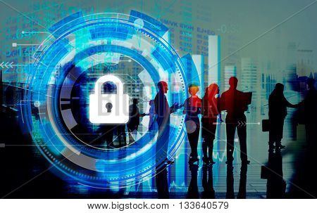 Business Corporate Protection Safety Security Concept