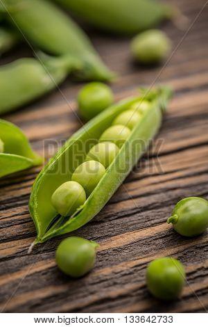 Green Pea Pods