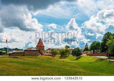 Kaunas Castle Wide Angle View