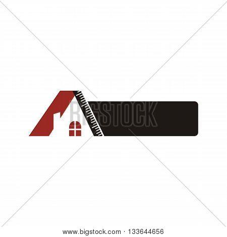 Logo real estate buiding architecture housing icon vector