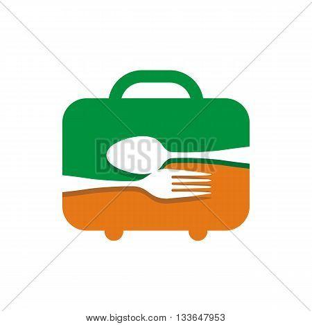 symbol icon food symbol cutlery design vector