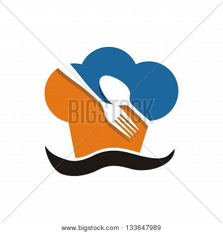 symbol icon food symbol cutlery design vector