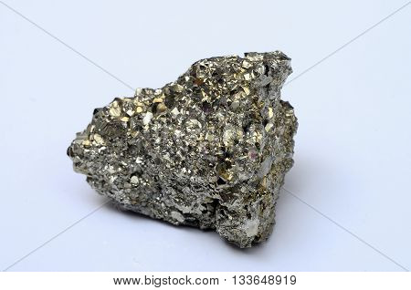 Close Up Of Iron Pyrite