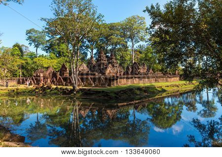 Banteay Srei Temple in Siem Reap province, Cambodia