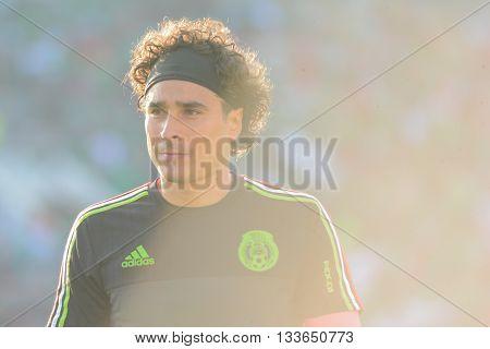 Mexican Goalkeeper Guillermo Ochoa During Copa America Centenario