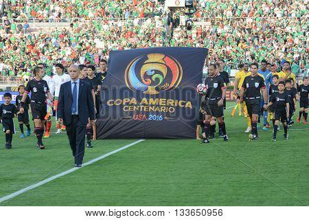 Entry Of The National Soccer Teams During Copa America Centenario
