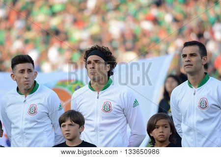 Mexico National Team Players During Copa America Centenario