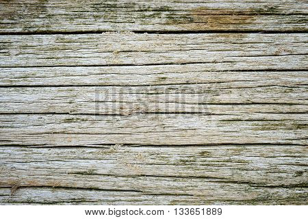 Background made of old rotten wood with sand grains