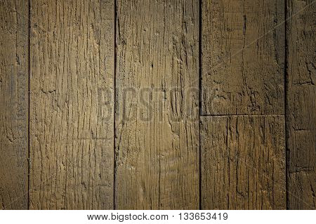 High quality wooden background with light vignette
