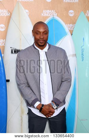LOS ANGELES - JUN 8:  Dorian Missick at the Animal Kingdom Premiere Screening at the The Rose Room on June 8, 2016 in Venice Beach, CA