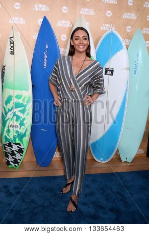 LOS ANGELES - JUN 8:  Carolina Guerra at the Animal Kingdom Premiere Screening at the The Rose Room on June 8, 2016 in Venice Beach, CA