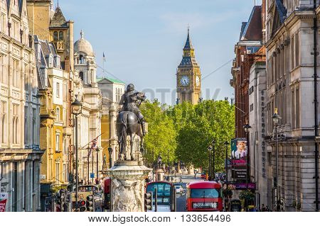 Equestrian Statue Of Charles I, Charing Cross